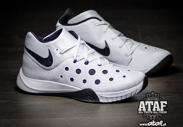 mieux aimé 1d78d 94368 Nike Zoom Hyperquickness 3 - White - Black - SneakerNews.com