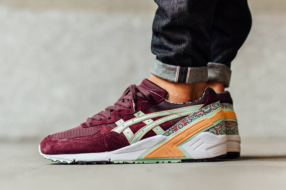 asics and overkill collaborate on gel sight desert rose