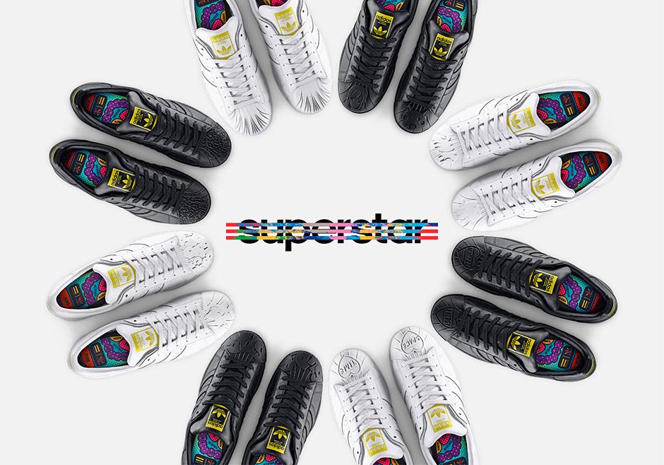 0ad7b0b73 Pharrell Curates adidas Originals Supershell  Sculpted  Collection -  SneakerNews.com. Superstar 1