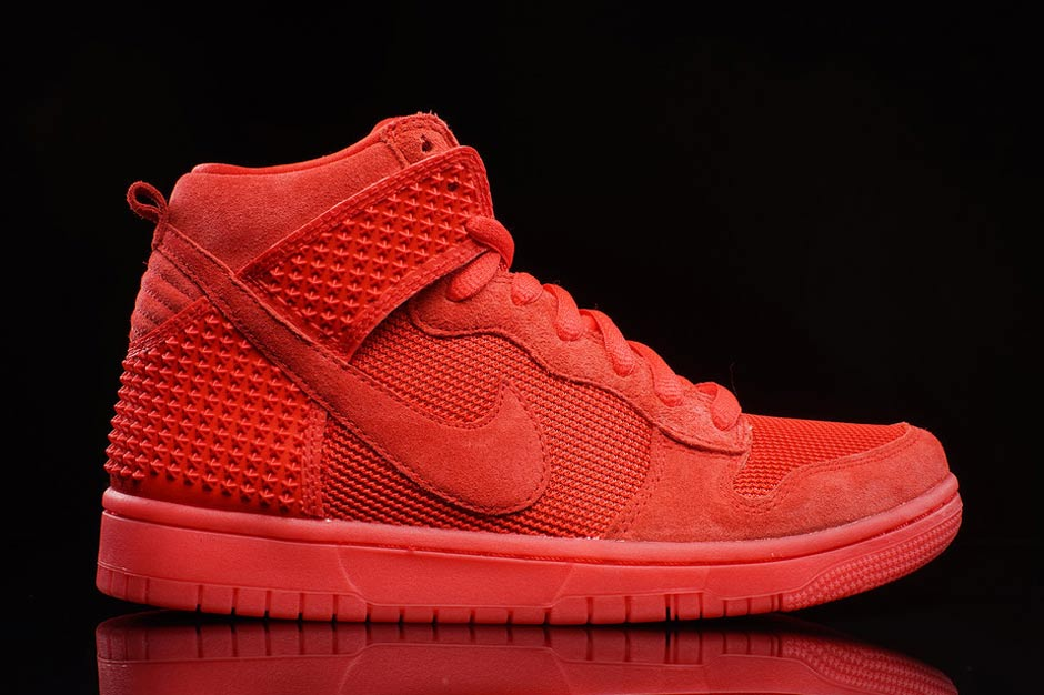 Nike Sb Dunk Høy Red October JPz55