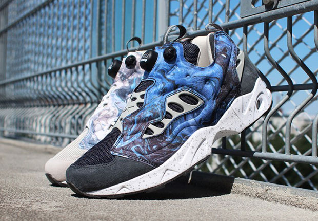 af2c31643c94 Garbstore is back with a new collaboration atop the Reebok Insta Pump Fury  Road. The two have hooked up on the Reebok Insta Pump Fury before