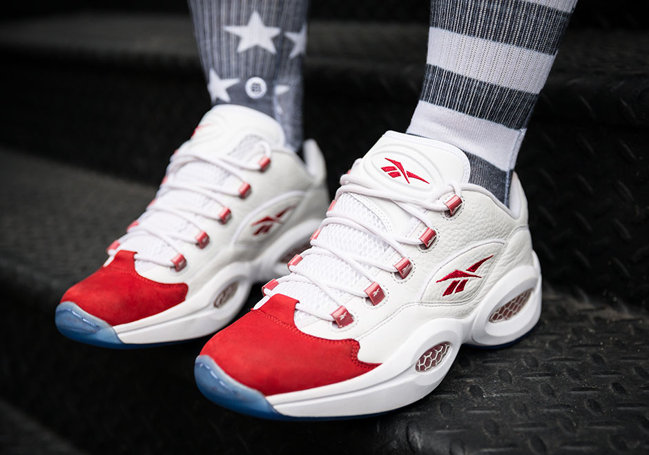 The Reebok Question Low S Og White Red Colorway Launches Tomorrow