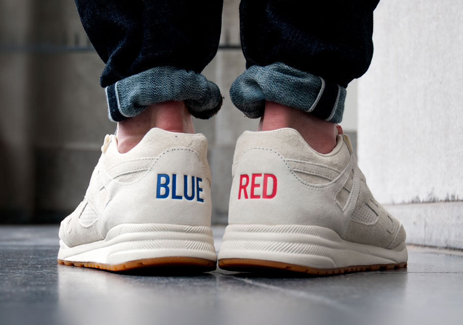 Kendrick Lamar Shoes Red And Blue