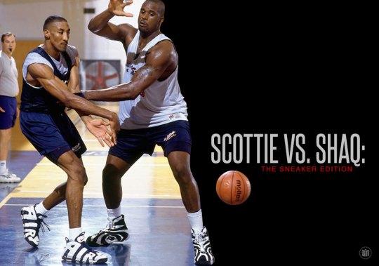 Scottie vs. Shaq: The Sneaker Edition