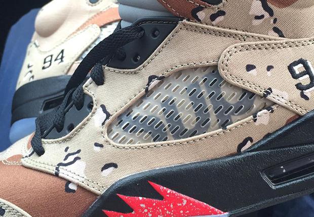 Nike Air Jordan 5 Supreme