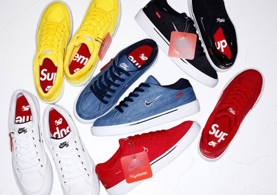 The Next Supreme x Nike Sneaker Collaboration Is Releasing This Week