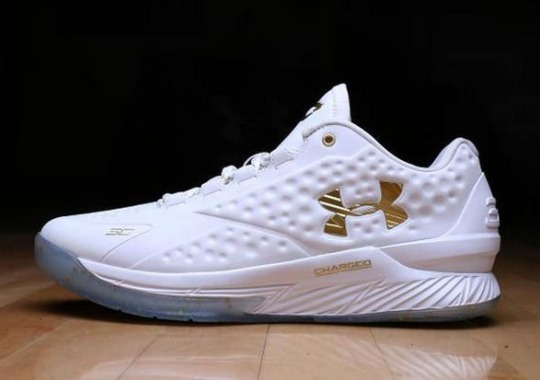 Under Armour Isn't Done Celebrating Steph Curry's Incredible Season Just Yet