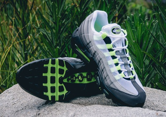 """Welcome Back The Nike Air Max 95 OG """"Neon"""""""