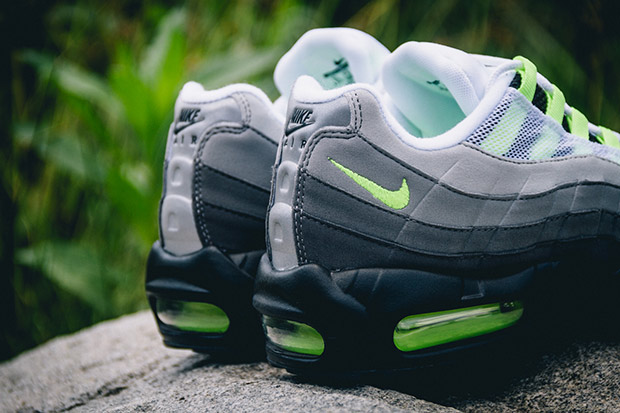 "sale retailer dfd67 eee10 Nike Air Max 95 ""Neon"". Color  Black Volt-Medium Ash-Dark Pewter Style  Code  554970-071. Release Date  July 25th, 2015. Price   170"