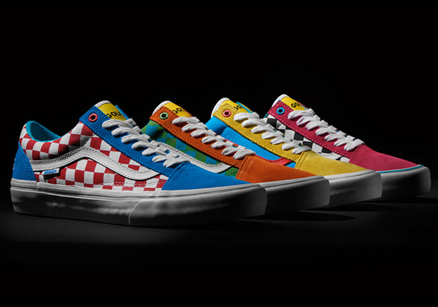 a5fc09e0c7951d The Golf Wang x Vans Old Skool collection will be available exclusively at Vans  Pro skateboarding retailers on August 29th.