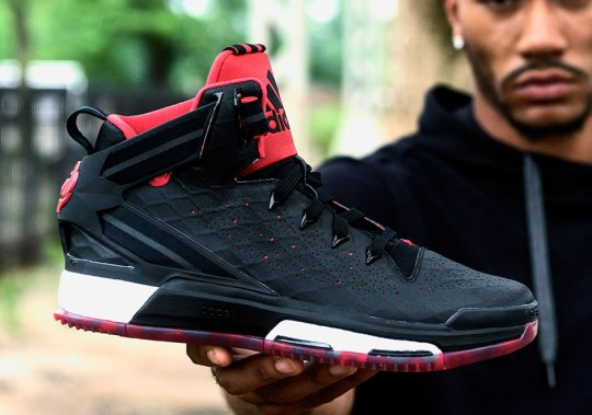 Derrick Rose, At Full Strength, Unveils The adidas D Rose 6