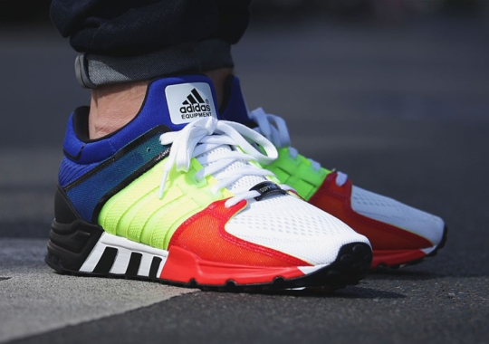 """An adidas EQT Support '93 With A New Take On """"Multi-Color"""""""