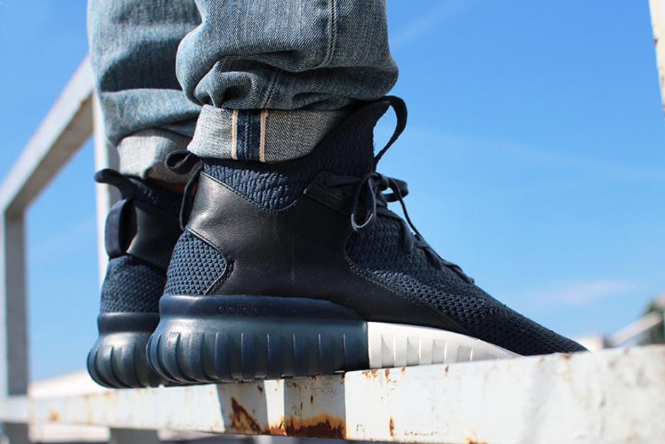Adidas Rørformet X Primeknit Svart Og Grå Sko koTaOsC
