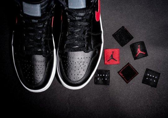 "A Closer Look At The Air Jordan 1 Rare Air ""Bred"""