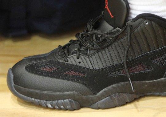 """Is Jordan Brand Releasing The Air Jordan 11 IE Low """"Referee"""" PE?"""