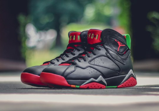 Marvin The Martian Has Landed On The Air Jordan 7