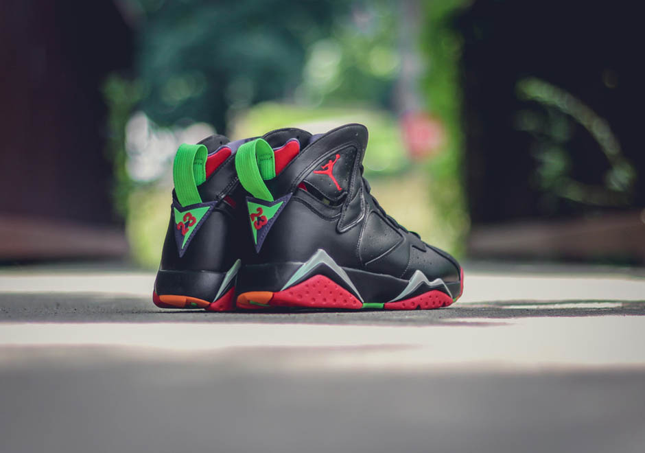 """free shipping f27c8 0ebb2 Take another look at the awesome """"Marvin the Martian"""" colorway of the Air  Jordan 7 Retro again today, and don t forget that they ll be landing this  upcoming ..."""