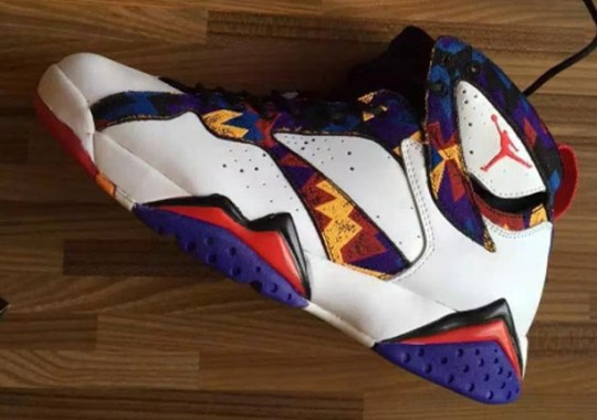 A First Look At The Air Jordan 7 Inspired By A McDonald's Commercial From 1992