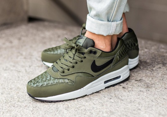 "The Nike Air Max 1 Woven Is Back With ""Carbon Green"""