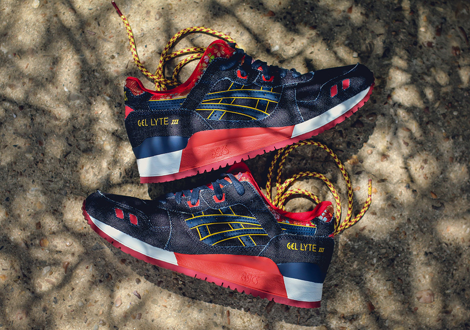 This New ASICS Gel Lyte III Pays Homage To Japanese ...