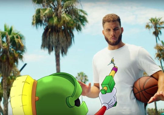 Blake Griffin Takes On Marvin The Martian In An Epic Dunk Contest