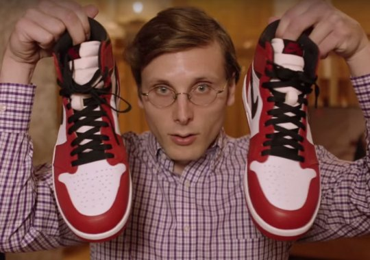 Brad Hall Reviews His Own Sneaker Review