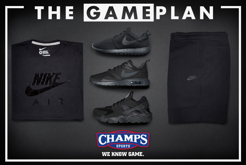 "0268bcc5f Go ""Lights Out"" With Nike Sportswear And Champs  TheGamePlan"