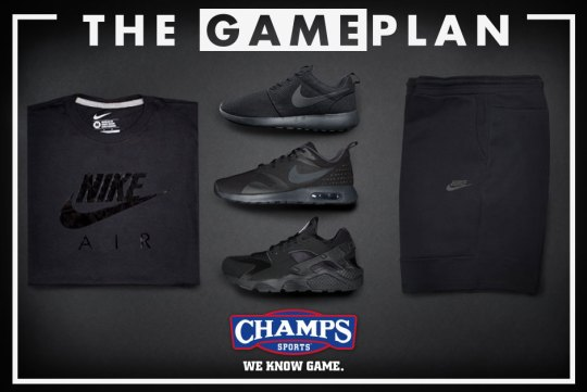 "Go ""Lights Out"" With Nike Sportswear And Champs #TheGamePlan"