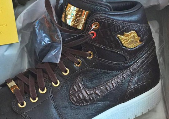 Rip Hamilton Shows Off The Next Air Jordan 1 Pinnacle Release
