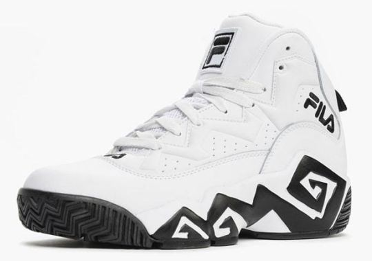 4803341533f3 Do You Remember Jamal Mashburn s Signature Shoe With FILA