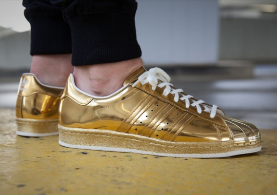 A Golden Take On The Classic adidas Superstar