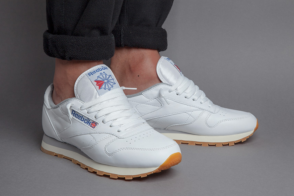 db004a7a0516 The Gummiest Gum Soles Ever Are Back On These Reebok Icons ...