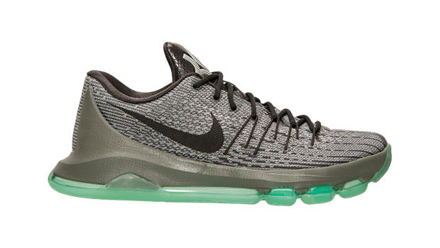 finest selection bc6cd fd64f ... Green Shoes Nike KD 8 ...