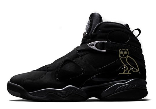 "Drake's Big Week Continues With The Debut Of The Air Jordan 8 ""OVO"""