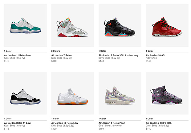 differently f7248 cdeb5 Nikestore Just Restocked A Ton Of Air Jordan Retros In Kids ...