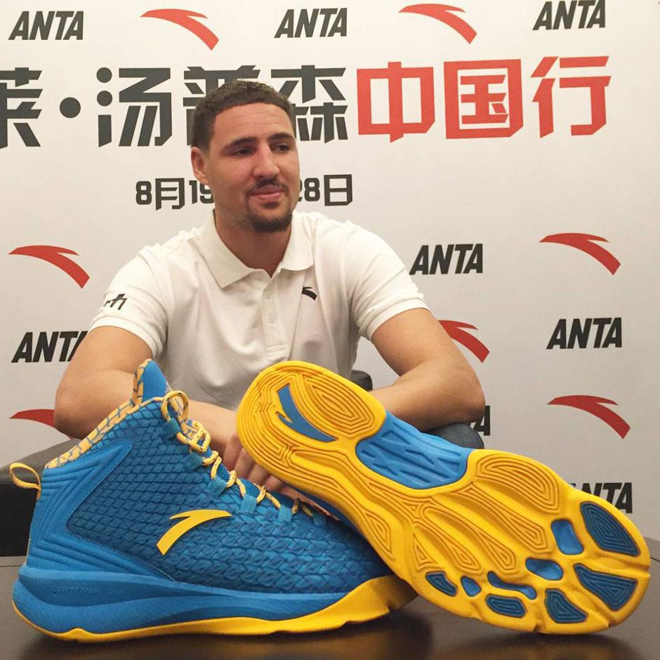 Klay Thompson ANTA Shoes | SneakerNews.com