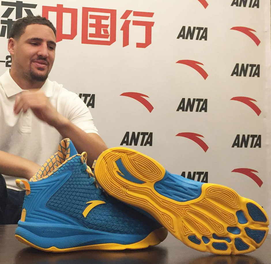 Klay Thomson New Shoe
