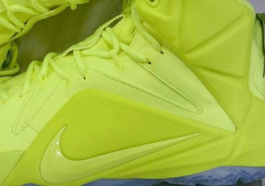 """Nike LeBron 12 EXT """"Volt"""" – Release Date"""
