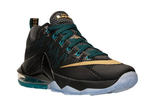 "Nike Goes Back To Akron With The LeBron 12 Low ""SVSM"""