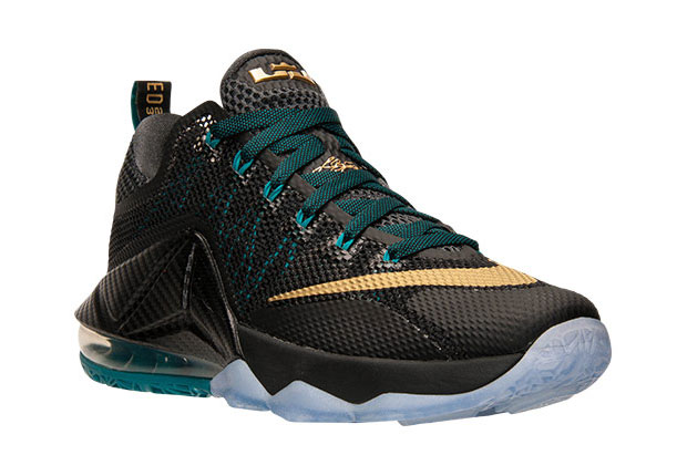 """best service 75aad eb9c5 Nike Goes Back To Akron With The LeBron 12 Low """"SVSM"""""""