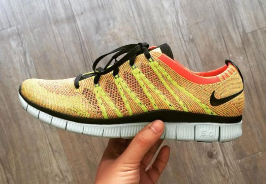 New Colorways Of The Nike Free Flyknit NSW Emerge