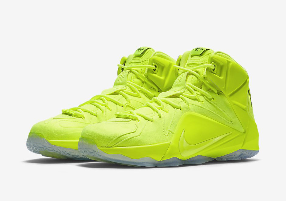 Only One Color Is Needed For This Upcoming Nike LeBron 12 Release -  SneakerNews.com