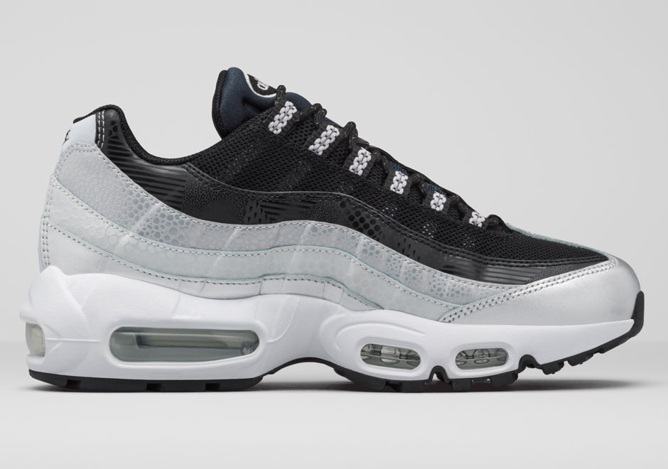 nike air max 95 women's black