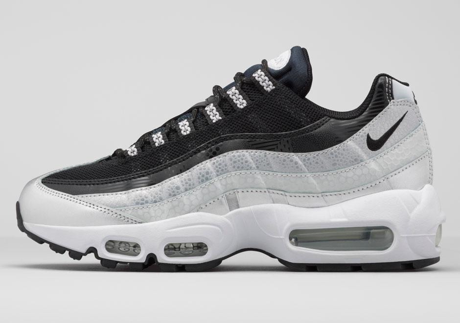 Nike Air Max 95 White And Black