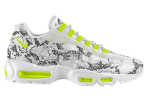 a9cf3a8de363 Snakeskin Options On The NIKEiD Air Max 95 - SneakerNews.com