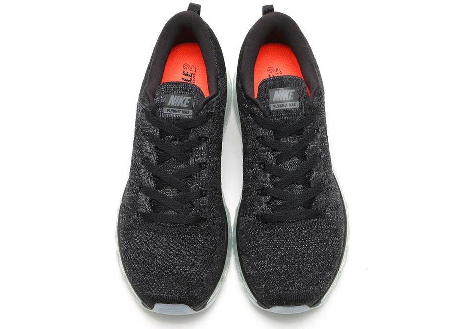 Nike Flyknit Luft Max Svart BGL7k
