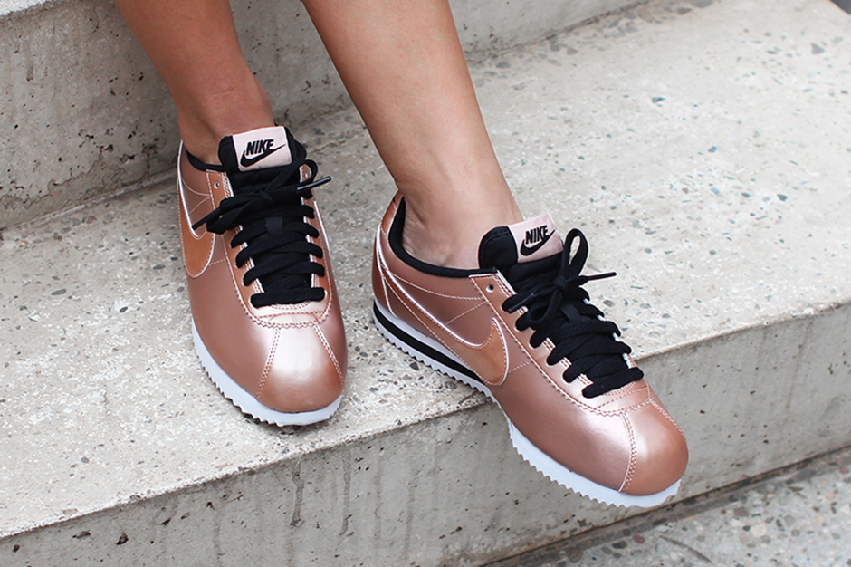 The Nike Cortez Gets Dipped In Bronze - SneakerNews.com