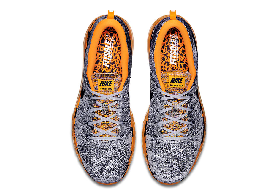 0d2f10c826a Nike Flyknit Air Max Premium - Wolf Grey - Total Orange - SneakerNews.com