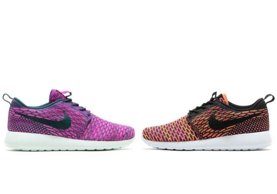 More Colorful Nike Flyknit Roshe Runs Are On The Way