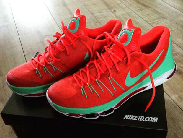 Kevin Durant Is A Big Fan Of These NIKEiD KD 8 Designs